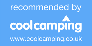recommend by cool camping logo